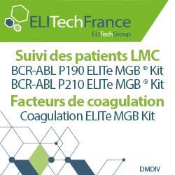 Publicité Elitech, société de diagnostic moléculaire